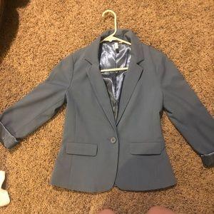 Frenchi blue blazer
